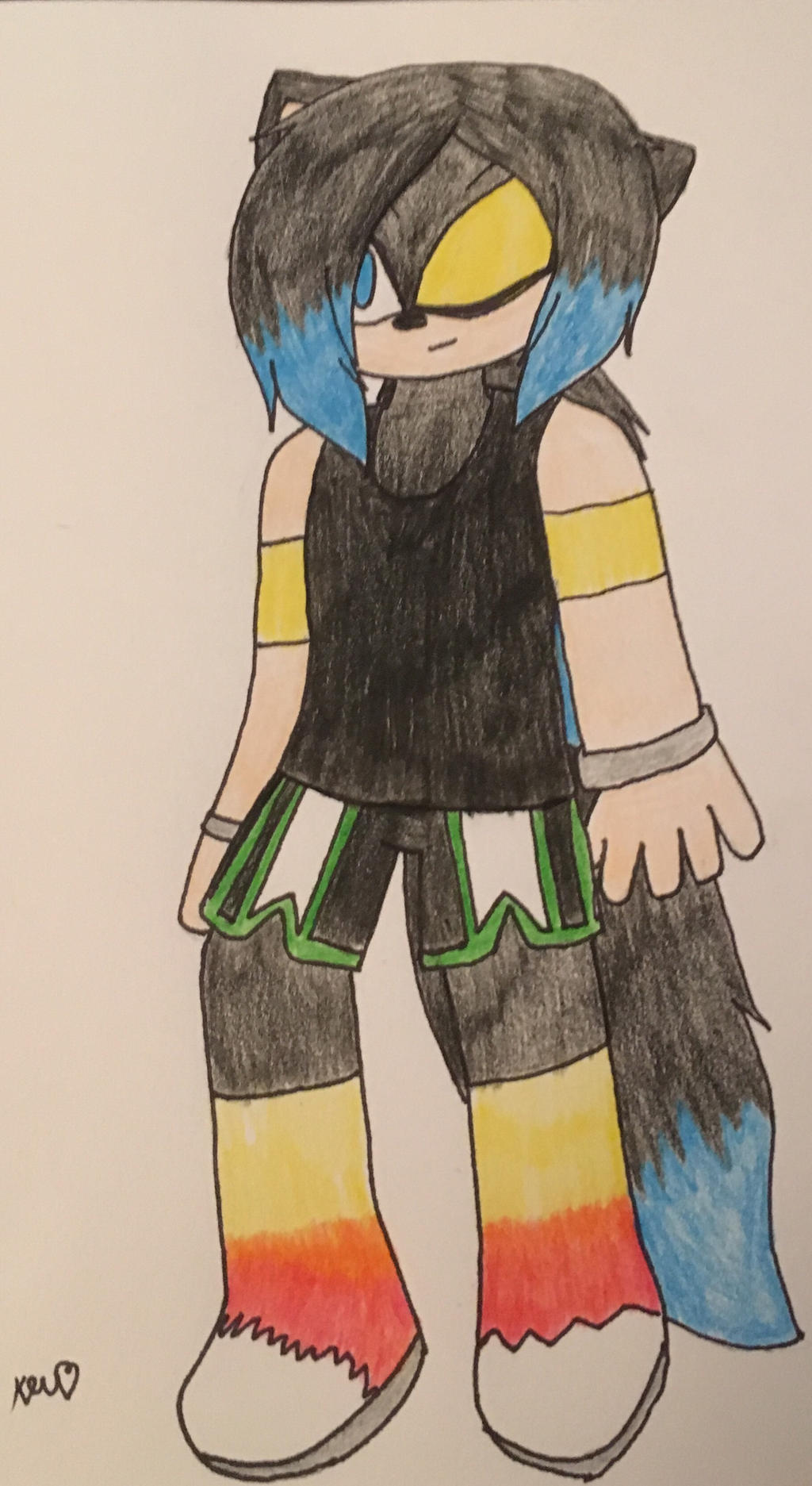 Art Trade with: sonleeforever5 by ShadAmyfangirl129