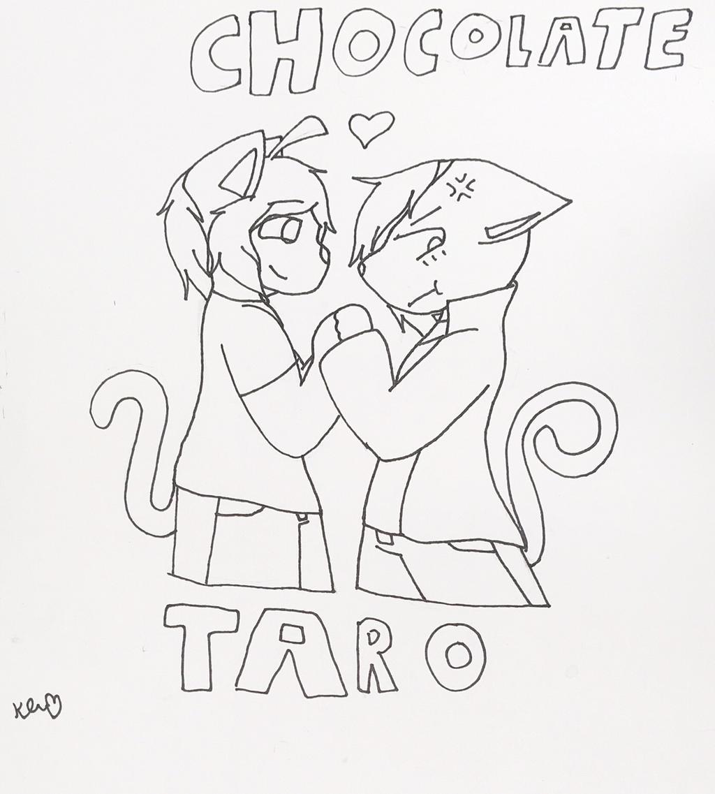 Chocolate x Taro by ShadAmyfangirl129