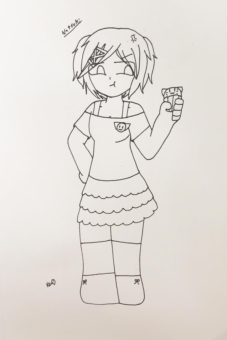 Natsuki (DDLC) by ShadAmyfangirl129