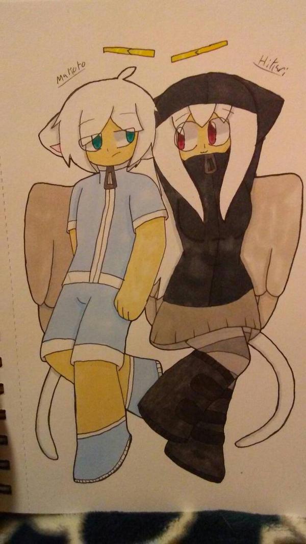 Hikari and Makoto by ShadAmyfangirl129