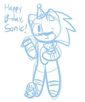 Sonics B-Day Doodle