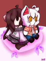 Yuki and Kai as Plushies by ShadAmyfangirl129