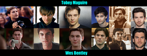 Tobey Maguire and Wes Bentley - Long Lost Twins