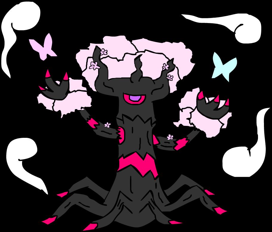 Mega Trevenant: Perfect Cherry Blossom by ProfessorShroomish