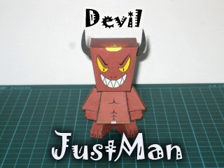 JustMan_Devil by JustUsproduct