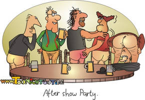 After Show Party by toonichtgut