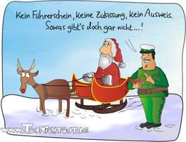 Santa by toonichtgut