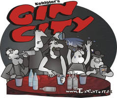 Gin City by toonichtgut