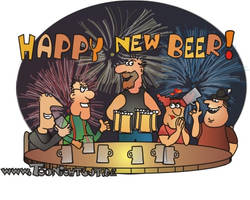 Happy New Beer by toonichtgut