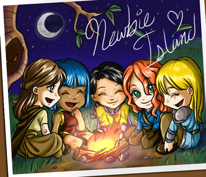Tibia Campfire by shygay