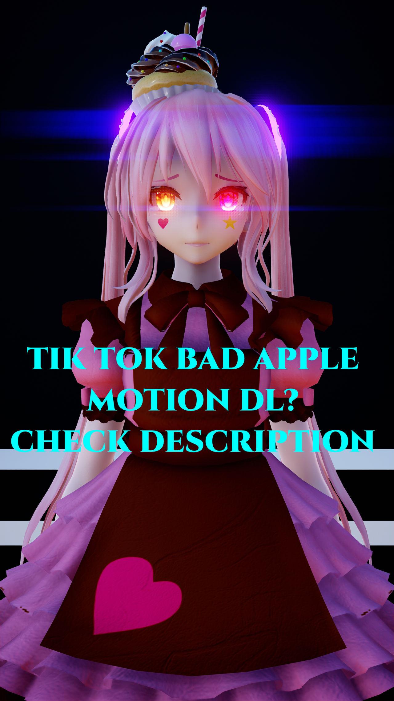 MMDxOCxTIKTOK] BADD APPLE [MOTION DL?] by XxNightBusterxX on