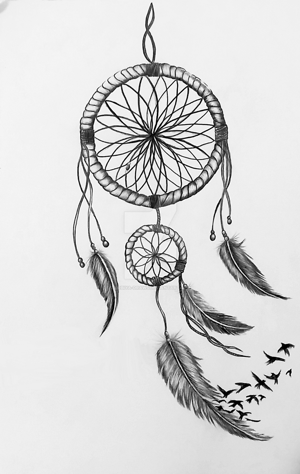 Dreamcatcher drawing by sobiya draws on deviantart for Unique sketches