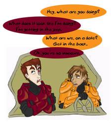 RvB Comic: In Denial by RamblinQuixotic
