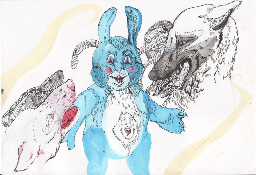 Shadow Bunny by DogDust