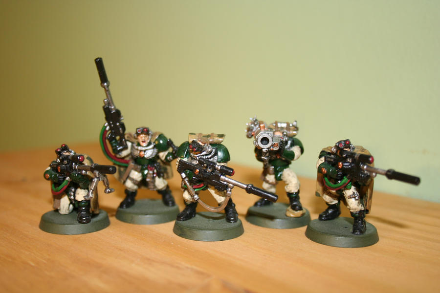 Space Marine Scout - Snipers by DaMagicHippo on DeviantArt