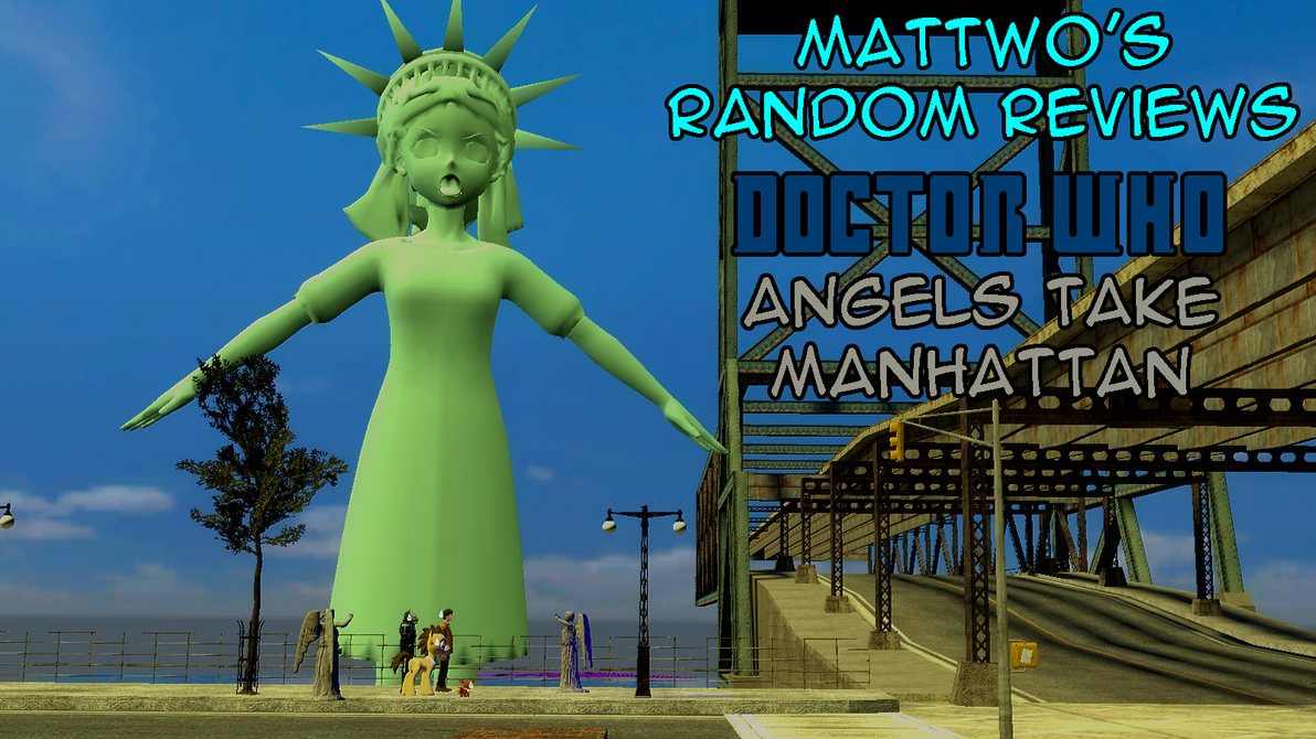 Angels Take Manhattan review title card by mattwo