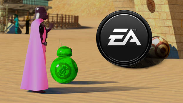 Pink Vaders Message to EA
