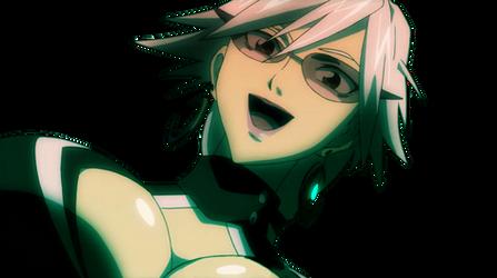 Haruka Gracia Under Boobs Smiling Vector by Sonicdude645