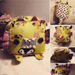 Stuffed Dragon by AngelicilySweet