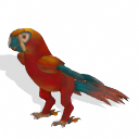 Spore creature - Cuban Macaw PNG by Tote-Meistarinn