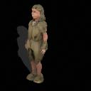 Spore GA Captain - Neanderthal woman PNG