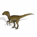 Spore creature - Velociraptor sornaensis (f) PNG by Tote-Meistarinn