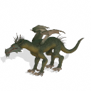 Spore creature _ Western Dragon PNG