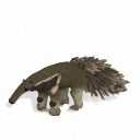 Spore creature - Giant anteater PNG by Tote-Meistarinn
