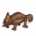 Spore creature - Veiled chameleon (male 6) PNG by Tote-Meistarinn