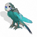 Spore creature _ Budgerigar (male 5) PNG by Tote-Meistarinn