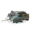 Spore UFO - Patchwork Frigate PNG by Tote-Meistarinn