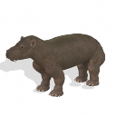 Spore creature - Coryphodon (male) PNG by Tote-Meistarinn