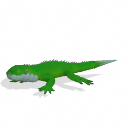 Spore creature - Fiji banded iguana (female) PNG by Tote-Meistarinn