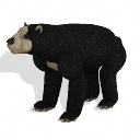 Spore creature - Short-faced Bear PNG by Tote-Meistarinn