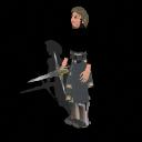 Spore GA Captain - Kylo Ren (unmasked) PNG by Tote-Meistarinn
