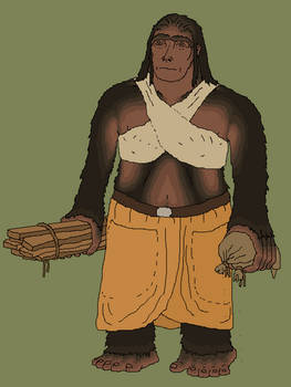 Bacnas the giantess - A fantasy character study