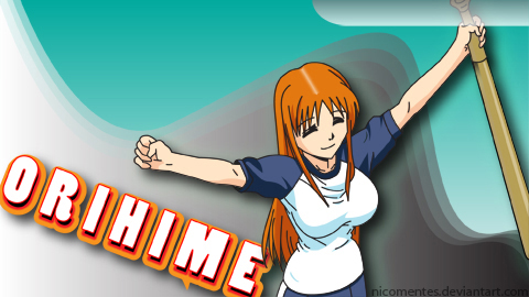 Orihime PSP Wallpaper by nicomentes