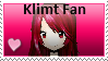 Klimt Fan Stamp by destinywolf102