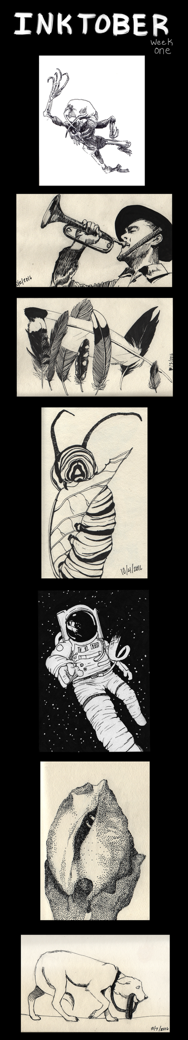 Inktober 1/4 by A-Hippocampus