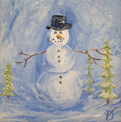 Miniature snowman 43_002