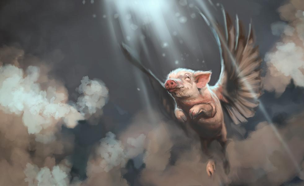 Divine Swine by MadMosquito