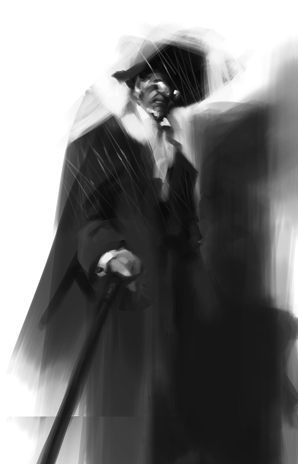 Old Man sketch by MadMosquito