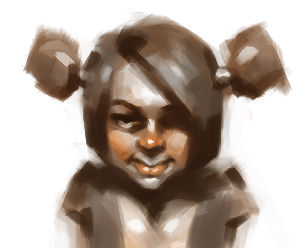 Face sketch by MadMosquito