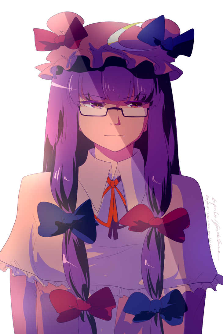 Patchy test drawing by TomomiChan1