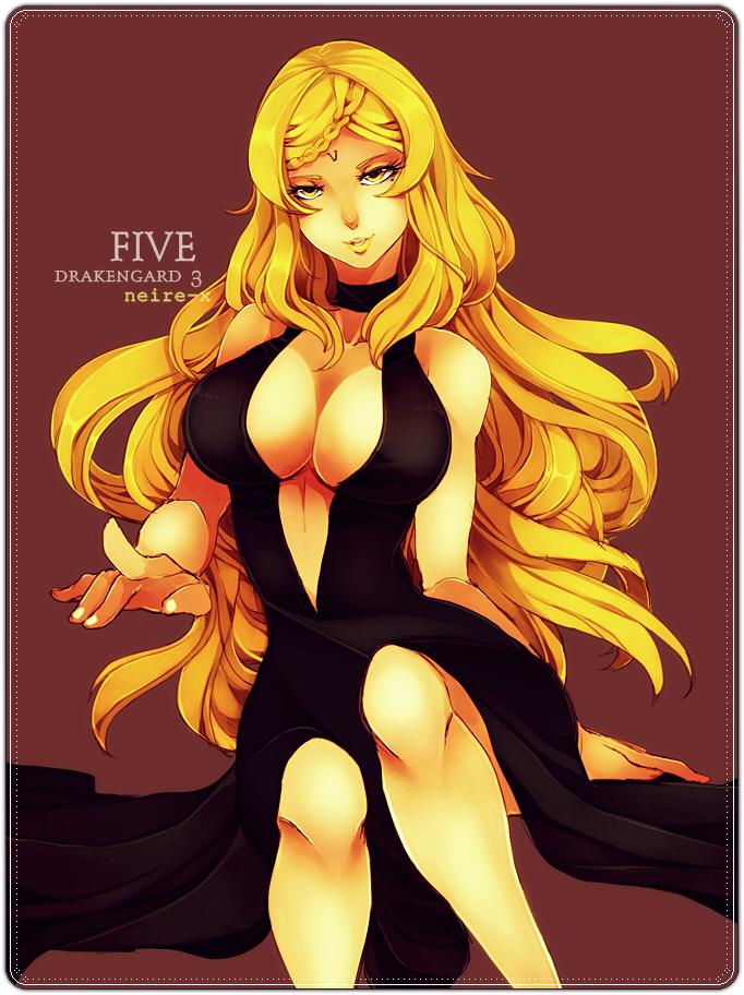 Drakengard 3 Five By Neire X On Deviantart Five rules over the water kingdom with great confidence, however, she constantly battles greed and relentless cravings. drakengard 3 five by neire x on deviantart