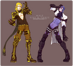 Drakengard 3: Male Five and Three