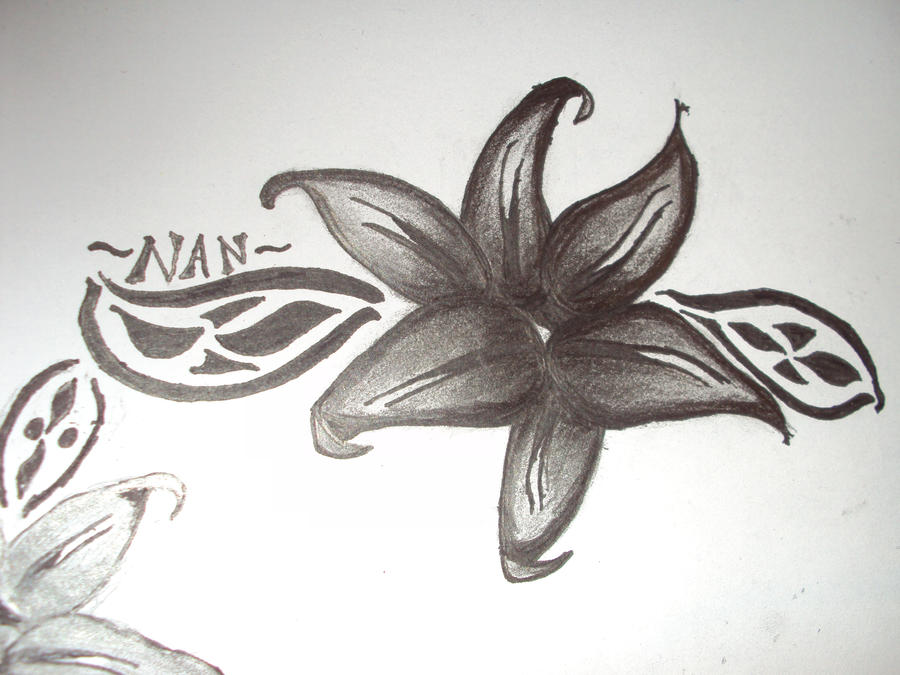 Tribal Lily Tattoos: Tribal Lily Tattoo 2 By Pagan-Child On DeviantArt