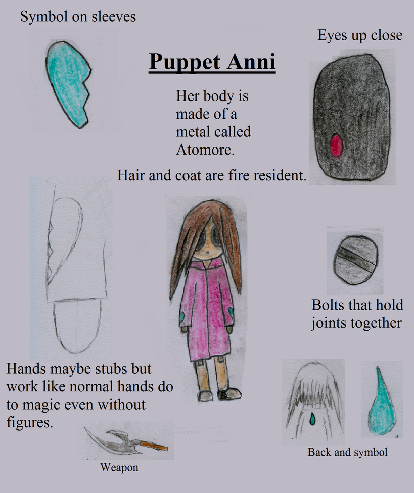 Puppet Anni ref by HellStorm8000
