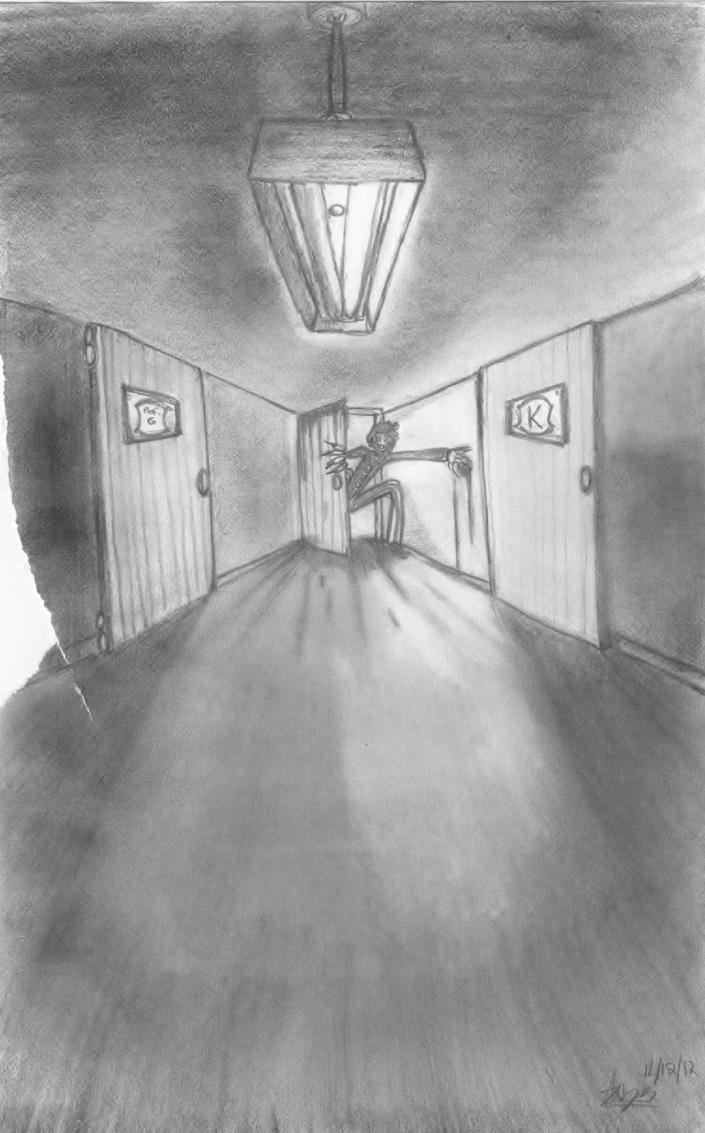 Comm1: The Lit Doorway by AyameHikari