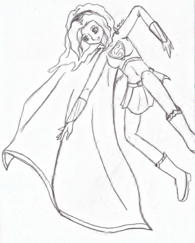 Comm2: Supergirl by AyameHikari